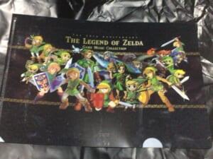 30周年記念盤 ゼルダの伝説 ゲーム音楽集 クリアファイル