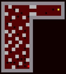 ロンダルキアの洞窟5階落とし穴地帯
