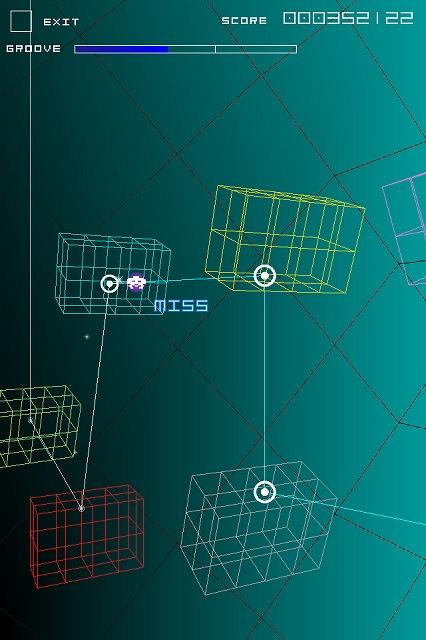 タイトー製iPhoneアプリゲーム『グルーヴコースター』が非常に爽快!